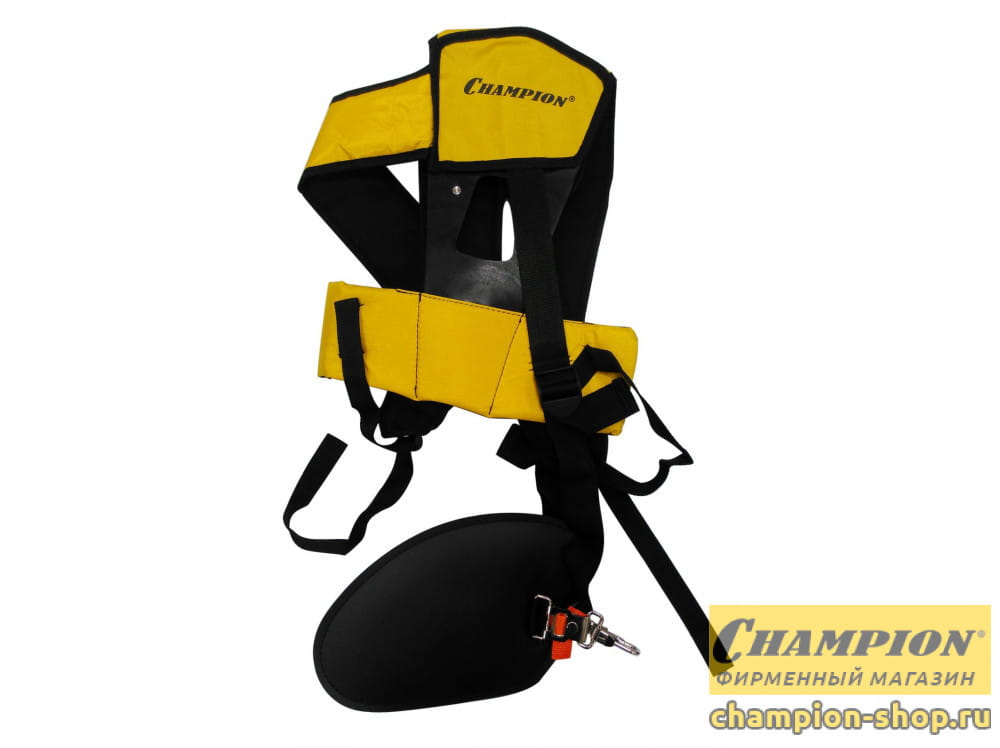 Ремень ранцевый быстросъемный Champion для триммеров с защитой бедра