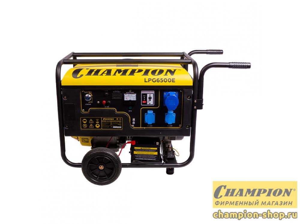 Генератор газовый Champion LPG 6500E
