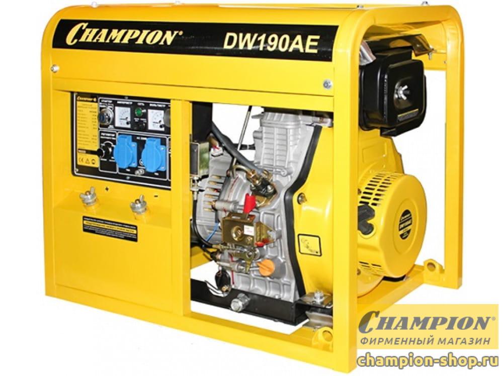 Генератор дизельный Champion DW190AE (сварочный)