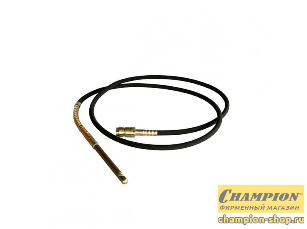Вал гибкий с вибронаконечником Champion (L6m D32mm)