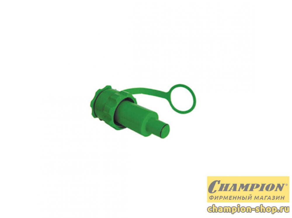 Горловина заправочная Champion с клапаном (для топлива)