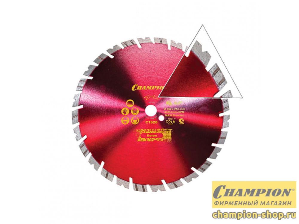 Диск алмазный Champion Fast Gripper ST 350/25.4/14 (универсальный)