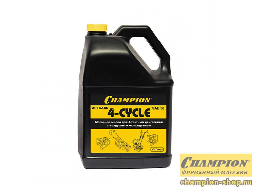 Масло для 4-тактных двигателей Champion SAE30 4 л