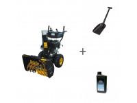 Снегоуборщик бензиновый Champion ST1170E + лопата + масло в подарок!