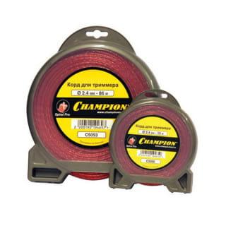 Корд триммерный Champion Spiral Pro  2.4 мм х 15 м (витой)
