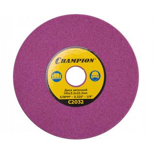 Диск заточный Champion 145х3,2х22,2 (3/8PM