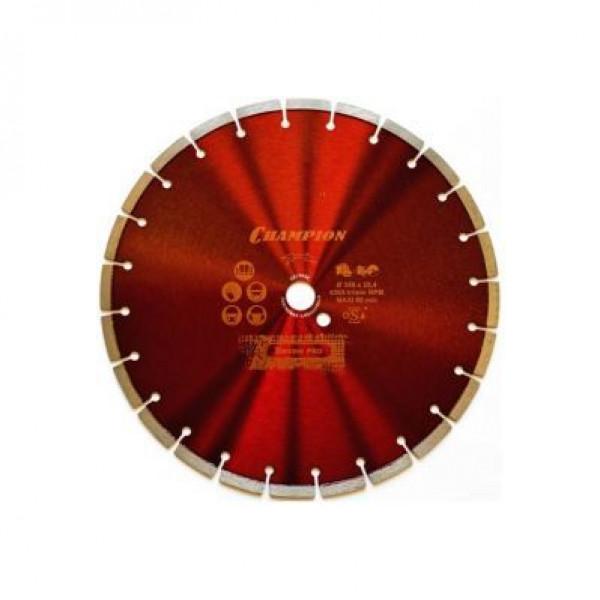Диск алмазный Champion Concremax L 350/25.4/10 (бетон)