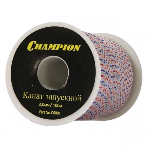 Канат запускной Champion 3.0 мм х 100 м