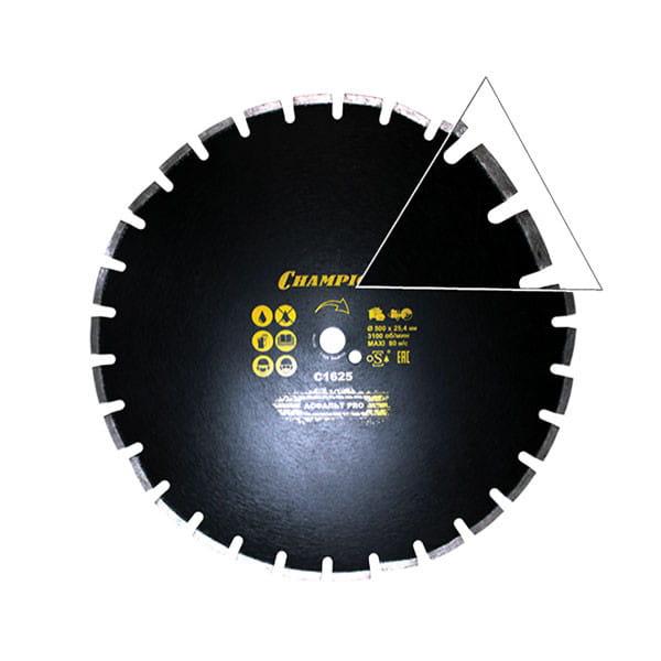Диск алмазный Champion Asphafight PRO 500/25.4/10/4 (асфальт)