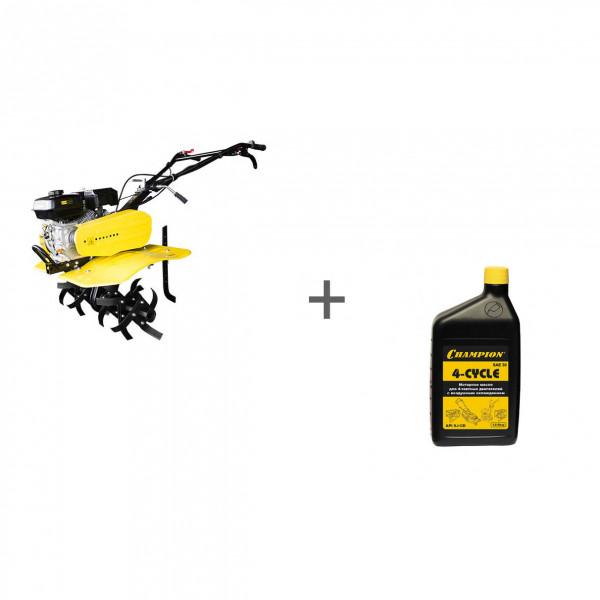Культиватор бензиновый Champion ВC 7714 + масло в подарок!